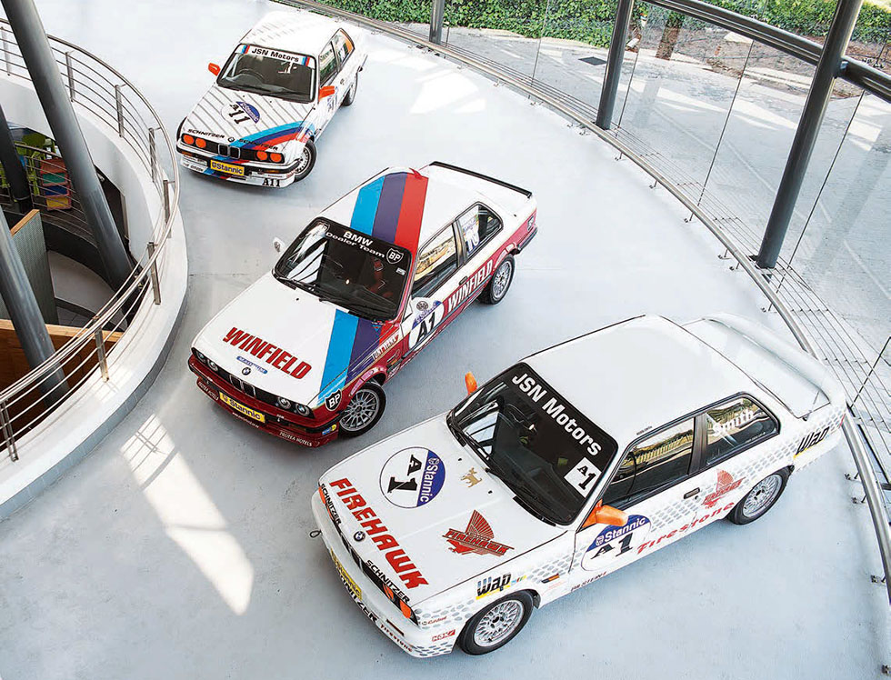 SA Racing Legends, the Group N BMW E30's