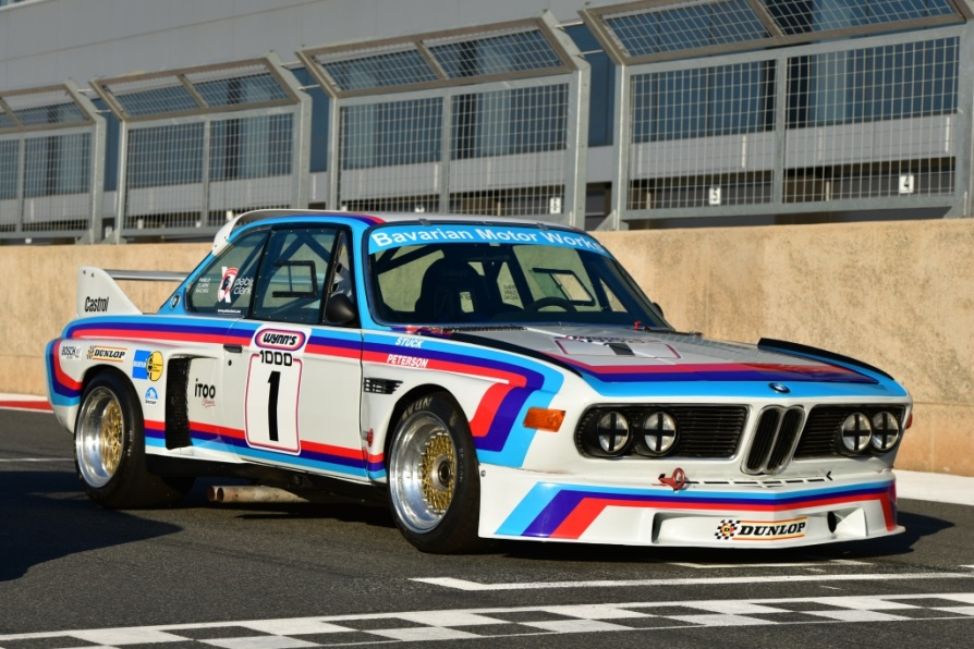 Replica Group 3 BMW E9 3,5 CSL Batmobile