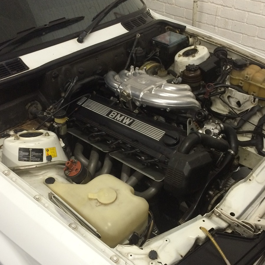 Pictured, a rebuilt BMW E30 6 Cylinder Engine for a longtime customer